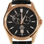 Orient Automatic Gold and rose gold Leather Watch Orient ET0R002B thumbnail 3