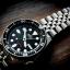 นาฬิกา Seiko Automatic Black Diver Watch 200m SKX007K Jubilee Strap thumbnail 1