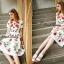 Petite rose print dress by Sweet Bunny thumbnail 4
