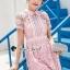Pink Daisy Lace Dress thumbnail 3