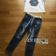 Lady Ribbon's Made Lady Coco Camellia Denim Embroidered T-Shirt and Skinny Jeans Set thumbnail 5