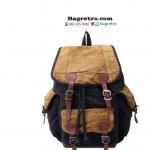 กระเป๋าเป้วินเทจ S.C.COTOON สีดำ