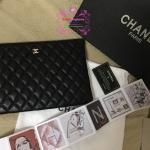 "Chanel clutch งานHiend 11""x7.5""หนังแท้ สั่งผลิตราคาเบาๆ"