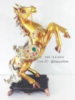 ของขวัญวันเปิดกิจการ ตั้งโชว์สวยๆเป็นศิริมงคล รุ่นม้าสีทองกระโจน