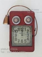 นาฬิกาวินเทจเก๋ๆ รูปโทรศัพท์โบราณสีแดง