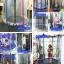 แทรมโพลีน 55 นิ้ว สีรุ้ง สปริงบอร์ดออกกำลังกายเพิ่มความสูง รับน้ำหนักได้ 100 kg สำหรับบ้านพื้นที่น้อยๆ thumbnail 2