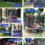 แทรมโพลีน 8 ฟุต สีรุ้ง เสารุ้ง สปริงบอร์ด trampoline เครื่องออกกำลังกายเพิ่มความสูง รับน้ำหนักได้ถึง 150 kg thumbnail 2