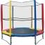 แทรมโพลีน 8 ฟุต สีรุ้ง เสารุ้ง สปริงบอร์ด trampoline เครื่องออกกำลังกายเพิ่มความสูง รับน้ำหนักได้ถึง 150 kg thumbnail 1