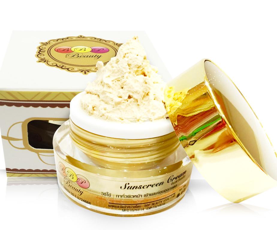 Sunscreen Cream ครีมกันแดดใยไหม