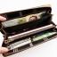 WL02-Gray กระเป๋าสตางค์ใบยาว กระเป๋าสตางค์ผู้ชาย ผ้าแคนวาส สีเทา thumbnail 5