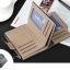 WS07-Black กระเป๋าสตางค์ใบสั้น แนวตั้ง กระเป๋าสตางค์ผู้ชาย หนัง PU เกรดเอ สีดำ thumbnail 4