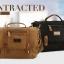 CV15-Brown กระเป๋าสะพายข้าง ผ้าแคนวาส MO&Y สีน้ำตาล thumbnail 9