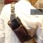 LT16 กระเป๋าคาดอก กระเป๋าคาดเอว หนัง Crazy Horse PU thumbnail 20