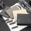 WS05-Black กระเป๋าสตางค์ใบสั้น แนวตั้ง กระเป๋าสตางค์ผู้ชาย หนัง PU เกรดเอ สีดำ thumbnail 3