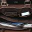 LT41-Black กระเป๋าถือผู้ชาย + สะพายข้าง หนัง PU สีดำ thumbnail 10