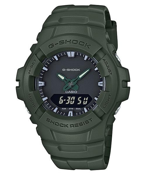 Casio G-Shock Clean Military Color Series รุ่น G-100CU-3A