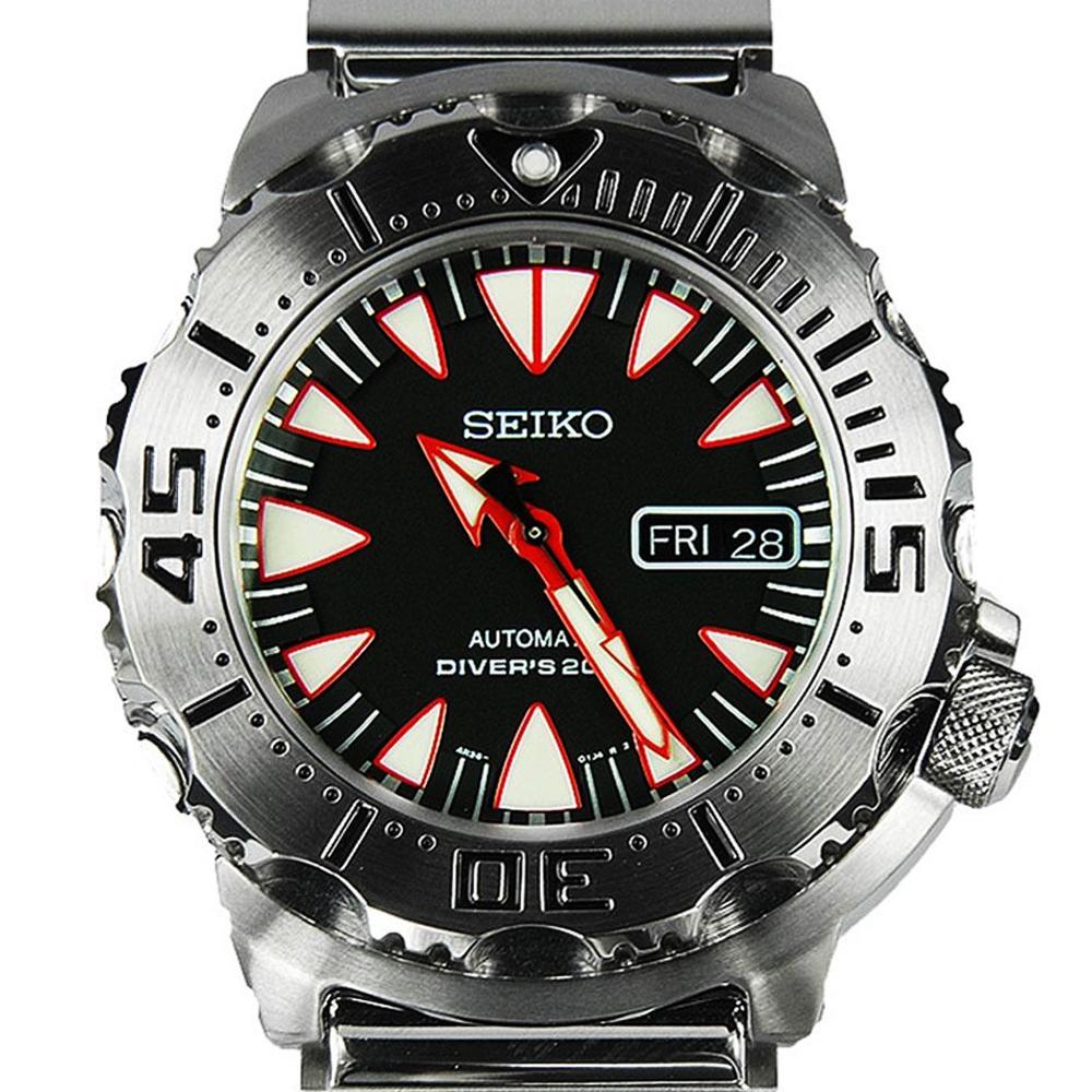 นาฬิกา Seiko Monster Dracula Fang Stainless SRP313K2