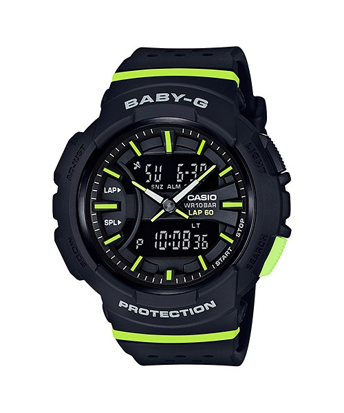 Casio Baby-G for Running BGA-240 series รุ่น BGA-240-1A2