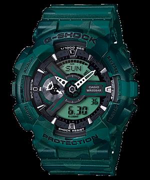 Casio G-Shock Analog-Digital Camouflage Men's Watch รุ่น GA-110CM-3A