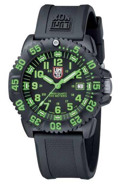 Luminox รุ่น Luminox 3067 EVO Navy Seal Dive Watch Colormark (green)