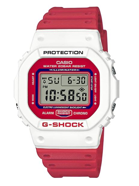 Casio G-Shock DW-5600TB Throwback '80s Street Fashion Colors รุ่น DW-5600TB-4A