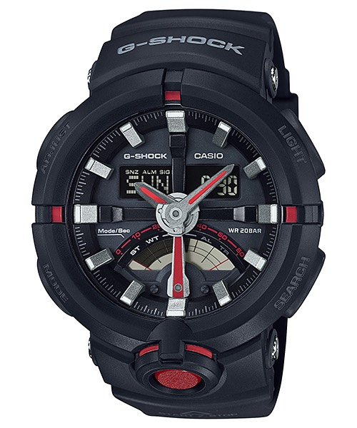 Casio G-Shock GA-500 Analog-Digital Watch for Urban Sports รุ่น GA-500-1A4