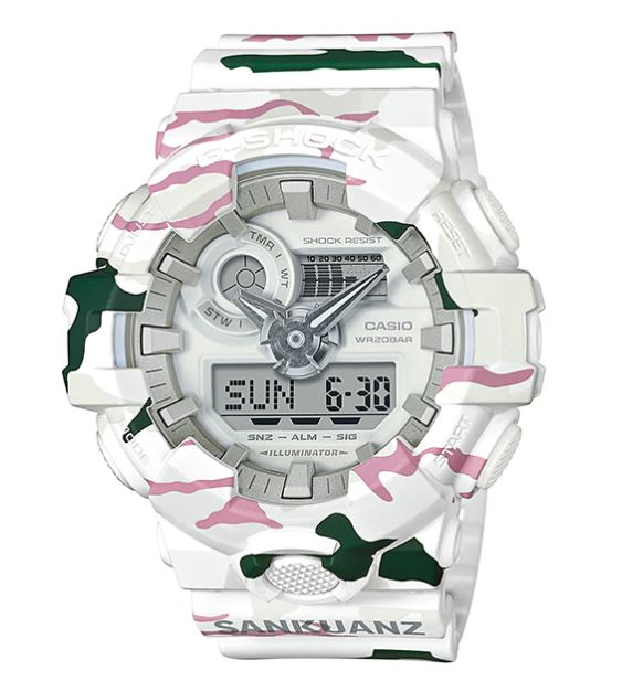 Casio G-shock ANNIVERSARY LIMITED MODELS รุ่น GA-700SKZ-7A