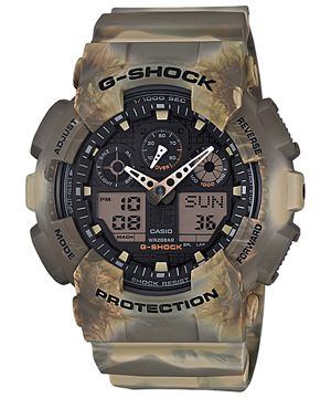 G-Shock Marble Camouflage Series 2016 รุ่น GA-100MM-5A