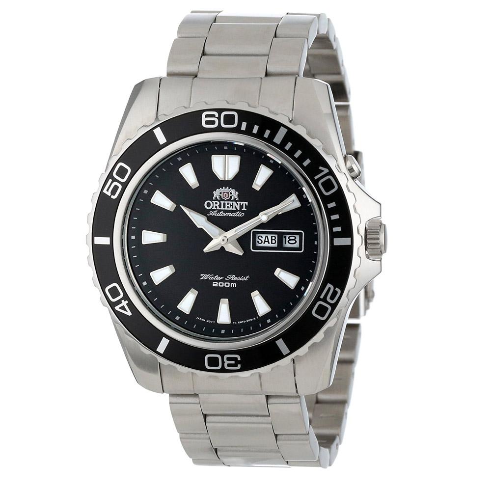 นาฬิกา Orient Automatic Black หน้าดำ CEM75001BR Diver 200m