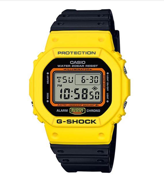 Casio G-Shock DW-5600TB Throwback '80s Street Fashion Colors รุ่น DW-5600TB-1
