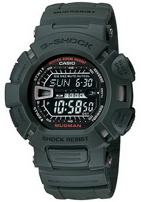 Casio G-Shock Mudman รุ่น G-9000-3V