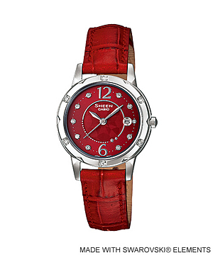 Casio Sheen 3-Hands Analog รุ่น SHE-4021L-4A