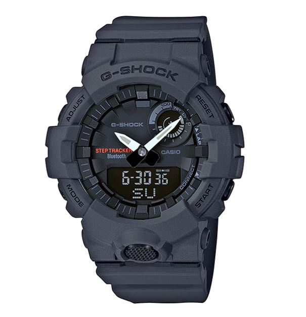 Casio G-Shock Bluetooth® รุ่น GBA-800-8 (เพื่อการออกำลังกาย นับก้าวได้)