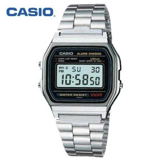 Casio Digital Classic Watch รุ่น A158WA-1DF