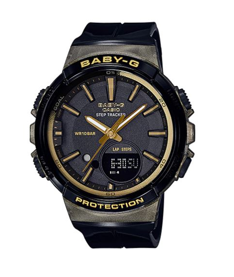 Casio Baby-G for Running BGS-100GS Glamorous Sporty series รุ่น BGS-100GS-1A