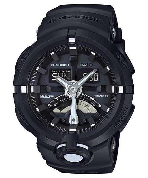 Casio G-Shock GA-500 Analog-Digital Watch for Urban Sports รุ่น GA-500-1A
