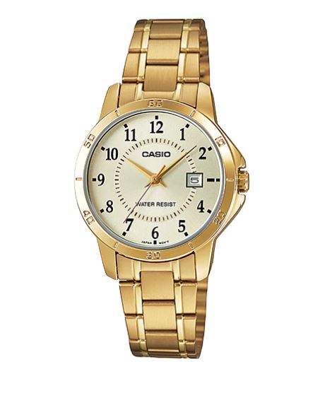 CASIO Analog - Ladies' รุ่น LTP-V004G-9B