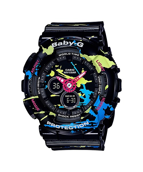 Casio Baby-G Splatter Pattern Series รุ่น BA-120SPL-1A