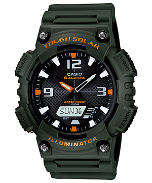 Casio Standard TOUGH SOLAR รุ่น AQ-S810W-3AV