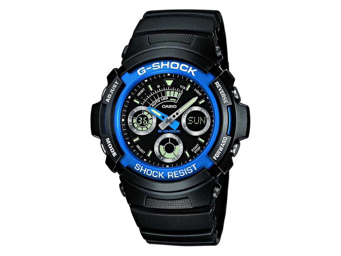 Casio G-Shock Standard ANA-DIGI รุ่น AW-591-2ADR