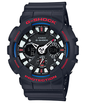 Casio G-Shock Limited Tricolor series รุ่น GA-120TR-1A