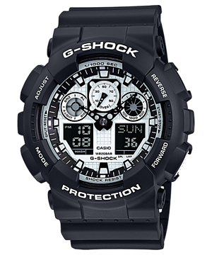 Casio G-shock รุ่น GA-100BW-1A