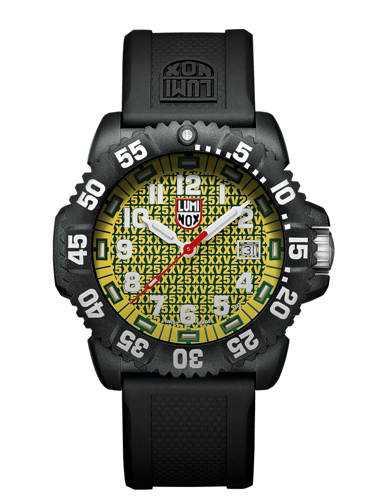 Luminox รุ่น 3055.25TH 25th Anniversary Limited Mens Watch 3050 Navy seal Yellow