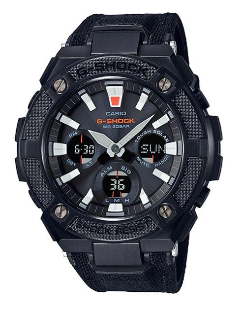 Casio G-Shock G-STEEL GST-S130BC CORDURA Band series รุ่น GST-S130BC-1A