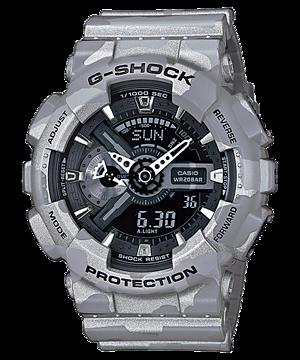 Casio G-Shock Analog-Digital Camouflage Men's Watch รุ่น GA-110CM-8A