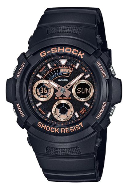 Casio G-SHOCK SPECIAL COLOR MODELS รุ่น AW-591GBX-1A4