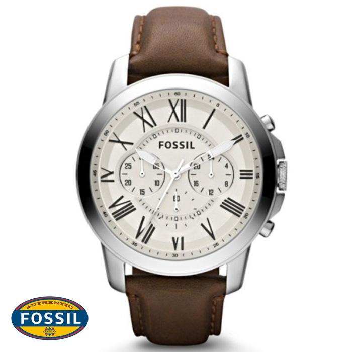 นาฬิกา FOSSIL FS4839 Men Watch Chronograph Leather นาฬิกาสายหนัง Chronograph