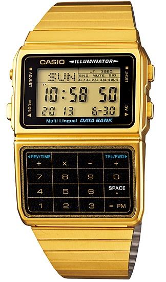 Casio Data Bank รุ่น DBC-611G-1DF