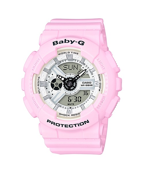Casio Baby-G Beach Pastel Color series รุ่น BA-110BE-4A
