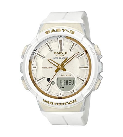 Casio Baby-G for Running BGS-100GS Glamorous Sporty series รุ่น BGS-100GS-7A